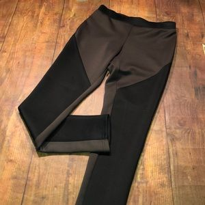 PURE AMICI~Color-block Leggings~S